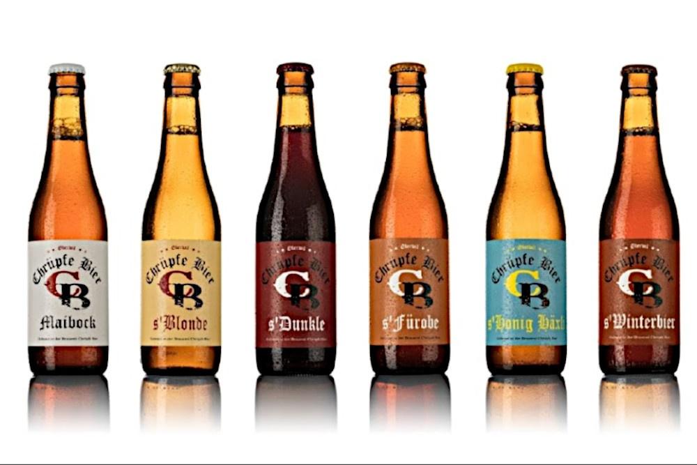 Chrüpfe Bier Brauereibesichtigung