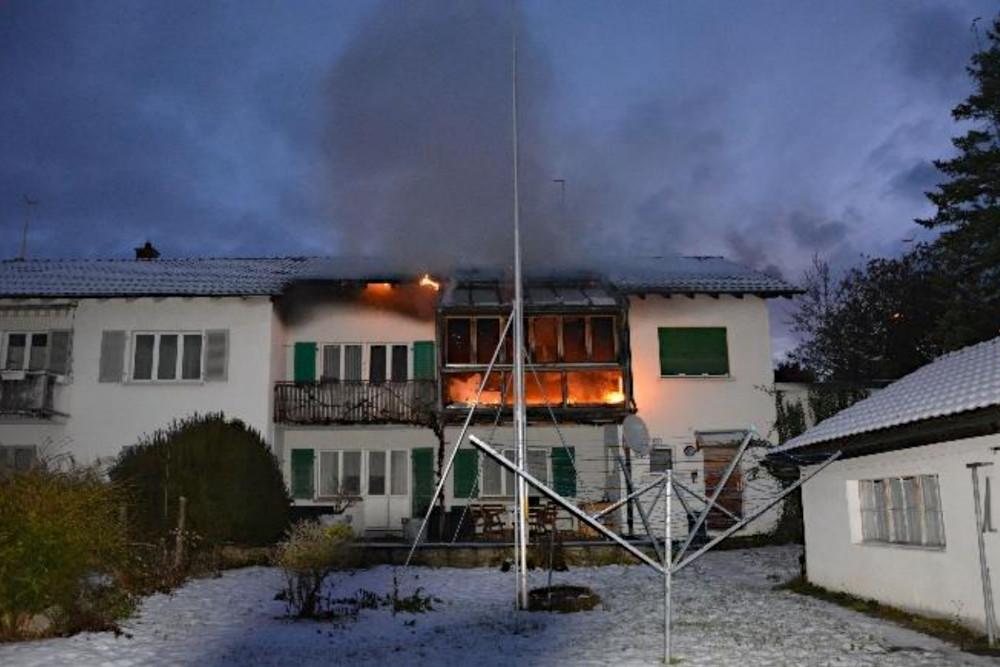 Trimbach SO: Brand in Wintergarten - niemand verletzt